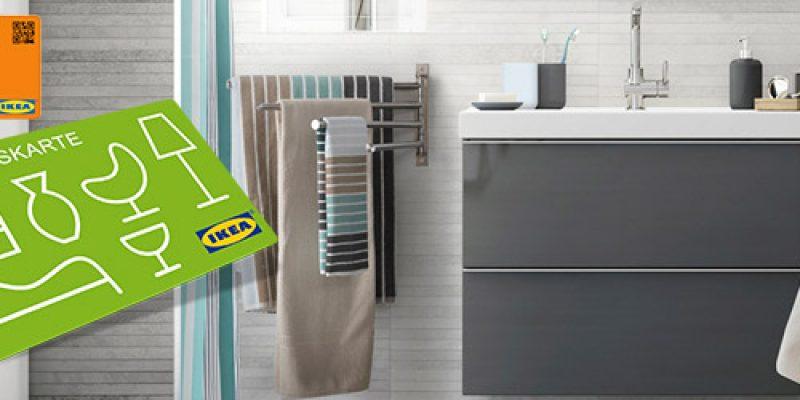 IKEA Badezimmermöbel für 300€ kaufen und 50€ Aktionskarte erhalten