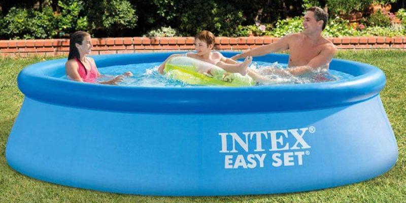 Intex Easy Set Pool (3 m Durchmesser & 76 cm Höhe) für 33,99€