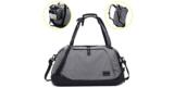 Itshiny Sporttasche mit Extra Schuhfach (grau) für 12,99€