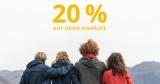 20% Jack Wolfskin Gutschein auf alles (auch auf Sale Artikel)