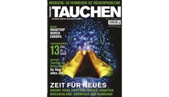 """Jahresabo der Zeitschrift """"Tauchen"""" für 4,95€ statt 96€"""