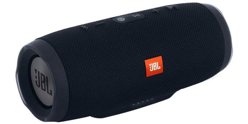JBL Charge 3 Bluetooth Lautsprecher (Stealth Edition) für 89€