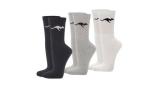 18 Paar Kangaroos Sportsocken (weiß, grau oder schwarz) für 14,99€