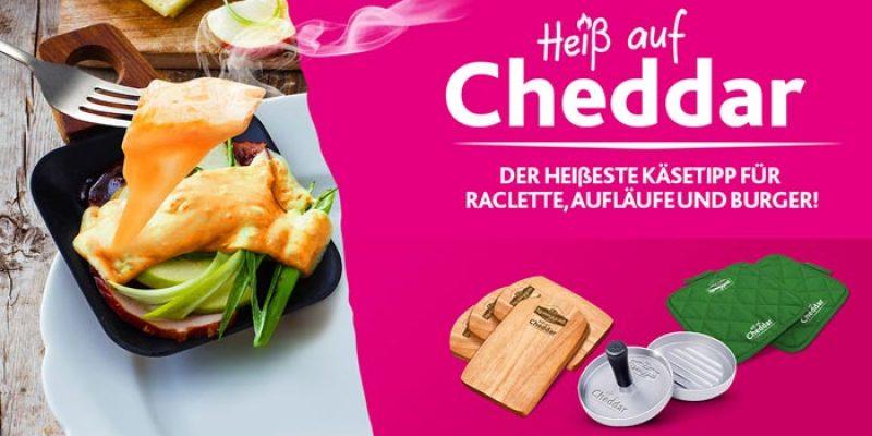 """Kerrygold """"Heiß auf Cheddar"""" Aktion – Burgerpresse, etc. als Prämie bei Kauf von 3 Packungen Käse"""