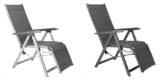 Kettler Relaxsessel Basic Plus (Liegestuhl für den Garten) für 91,95€