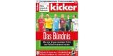 Kicker Miniabo: 3 Monate für 71,50€ + 70€ Amazon Gutschein