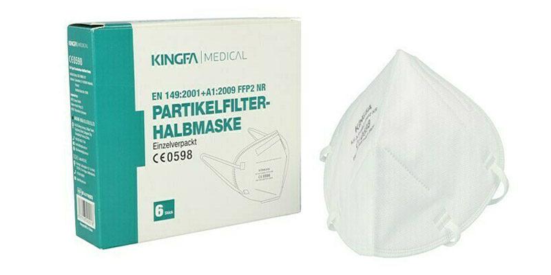 30x Kingfa FFP2 Masken für 29,75€ bei Bauhaus