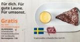IKEA Restaurant Gutschein für gratis KLADDKAKA Schokoladenkuchen