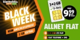 Klarmobil Black Friday Week: Allnet-Flat + 5 GB LTE für 9,99€ im Telekom Netz
