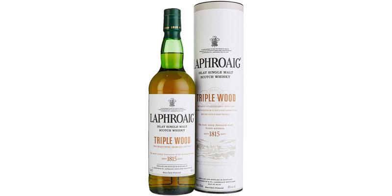 Laphroaig Triple Wood Single Malt Whisky (0,7 Liter) mit Geschenkverpackung für 30,39€