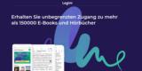 Legimi Gutschein: 42 Tage kostenlosen Zugriff auf 150.000 E-Books & Hörbücher (Kündigung notwendig)