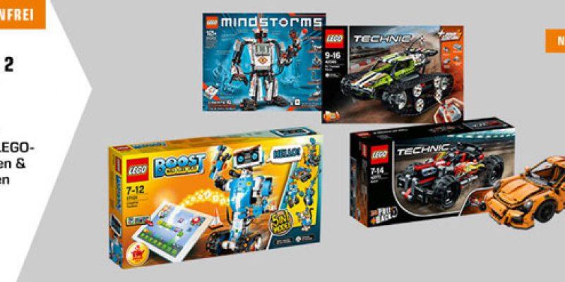 Lego 3 für 2 Aktion bei Saturn – Lego Technic, Lego City, Lego Ninjago, etc.