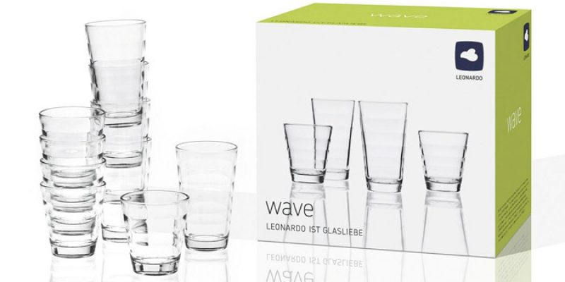 2x Leonardo Wave Gläserset (12-teilig) für 14,03€ inkl. Versand