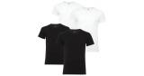 4x Levis V-Neck Basic T-Shirts (schwarz, weiß oder grau) für 33,95€
