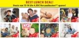 LIDL Best Lunch Deal: Jeden Tag von 12 – 14 Uhr versandkostenfrei bestellen