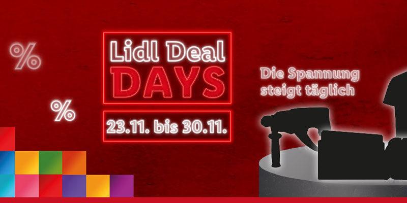 LIDL Deal Days 2020 zum Black Friday – z.B. DocGreen EWA 6000 E-Scooter für 290,03€ + Versandkostenfrei Gutschein