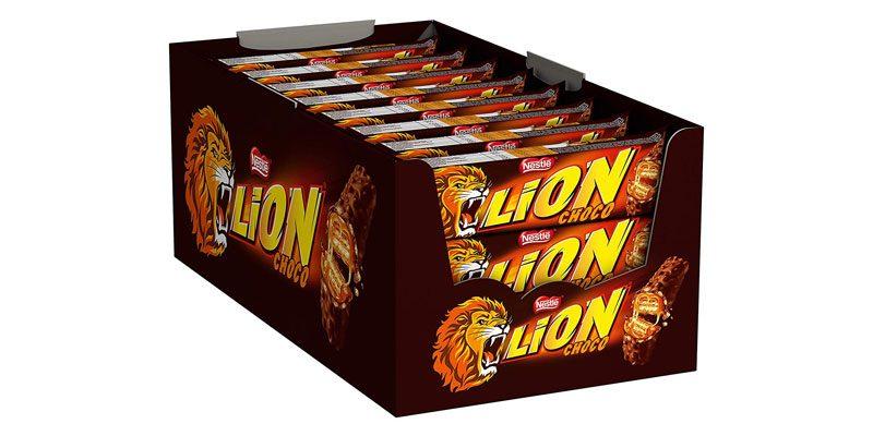 24x Lion Schokoriegel mit Karamell für 7,50€