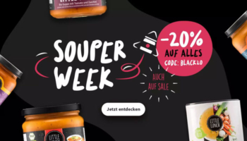 20% Little Lunch Gutschein auf alles –  Suppen & Saucen [Black Week]