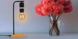 Livarno Tischleuchte (schwebende Lampe) in schwarz oder silber für 24,94€