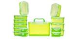 Lock & Lock Frischhaltedosen-Set (15 Dosen) für nur 19,98€