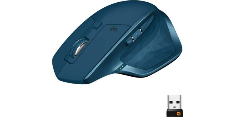 Logitech MX Master 2S Maus (kabellos mit Unifying Empfänger) für 60,99€