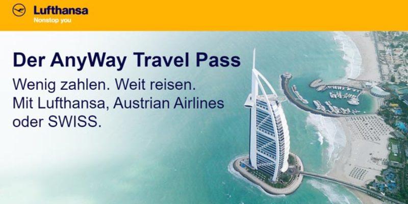 Lufthansa Anyway Travel Pass: OneWay Flüge nach Dubai, Miami, Los Angeles uvm. ab 179€