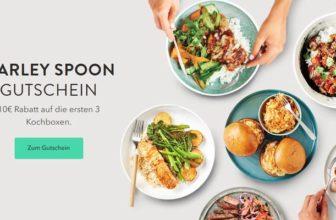 3x 10€ Marley Spoon Gutschein – Günstige Kochboxen im Abo