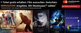 Kinoheld.de: 2 für 1 Kinotickets bei Zahlung mit Masterpass