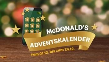 McDonald's Adventskalender 2020: Jeden Tag ein neuer Deal – z.B. am 09.12.2020 Weihnachtssocken + 20 Chicken McNuggets für 4,99€