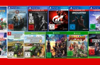 Media Markt Nimm 3 Zahl 2 Aktion: Games für PS4, Xbox & Nintendo Switch