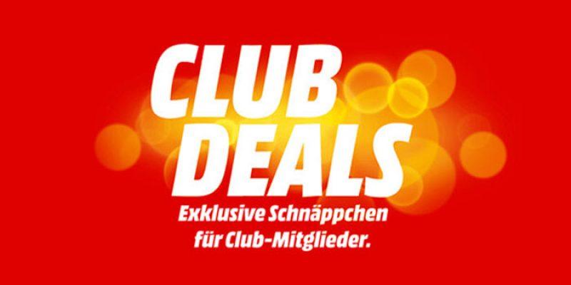 Media Markt Club Deals für Club Mitglieder (kostenlose Anmeldung)