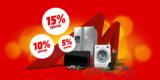 Media Markt Club Tage: bis zu 15% Rabatt auf Technik – z.B. 15% Rabatt auf Haushaltsgeräte