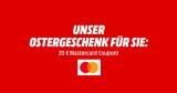 20€ Media Markt Mastercard Gutschein ab 50€ Einkaufswert für nächsten Einkauf