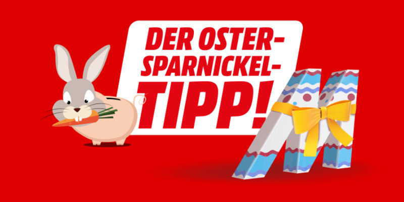 Media Markt Oster-Sparnickel Tipp 2021: diverse Technik-Deals