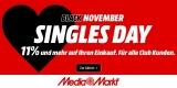 Media Markt Singles Day 2020: Top-Technik-Deals + 11% Rabatt auf fast alles & 15% Rabatt auf ausgewählte Artikel