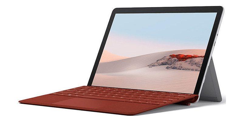 Microsoft Surface Go 2 Tablet (10,5 Zoll) mit 128 GB Speicher + Type-Cover für 531,01€