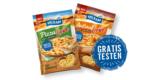 Gratis Milram Reibekäse: Sorten PizzaLiebe & AuflaufLiebe kostenlos probieren