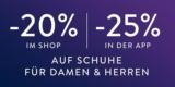 20% mirapodo Gutschein auf Schuhe (auch auf Sale) – oder 25% über App