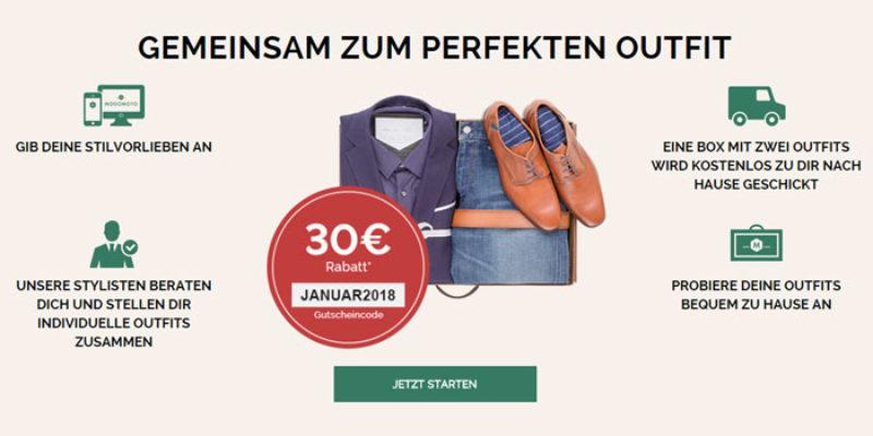 30€ Modomoto Gutschein: Professionelle Stilberatung für Männer