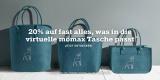 20% Rabatt auf virtuelle Mömax Tasche (Deko, Bettwäsche & Kleinartikel)
