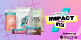 Myprotein Impact Week: 46% bzw. 47% Rabatt auf alles + Gratis Versand ab 20€ am 09.09.2021