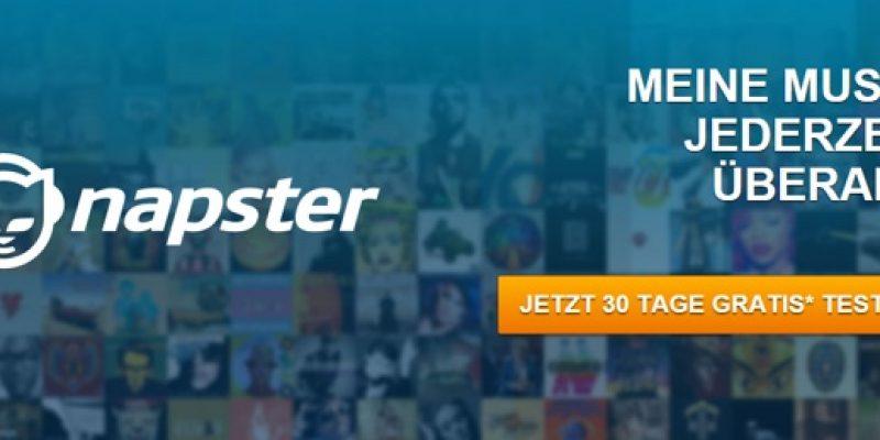 30 Tage Napster kostenlos testen: Unbegrenzt Musik hören