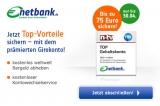 Kostenloses Netbank Girokonto mit 75€ Startguthaben