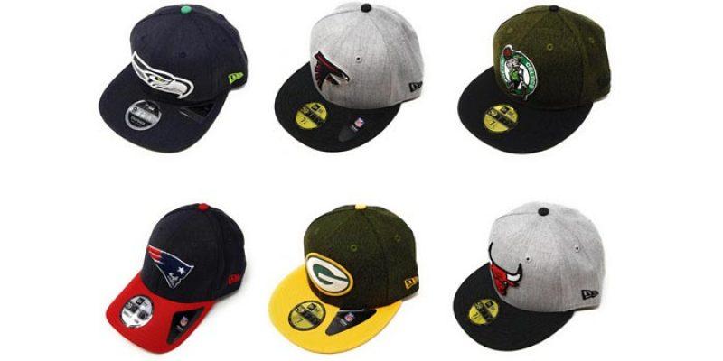 New Era Caps (NFL, NBA, MLB) 59FIFTY, 39THIRTY, 9FIFTY, etc. für 9,95€