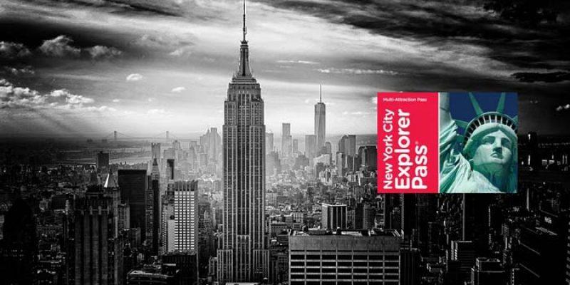 New York Explorer Pass mit 3, 5, 7 oder 10 Attraktionen ab 67,15€ bei Groupon