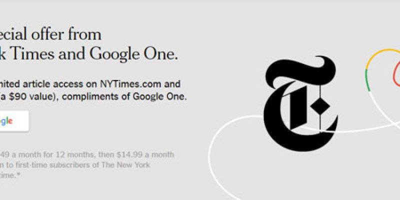 6 Monate New York Times ePaper Abo kostenlos
