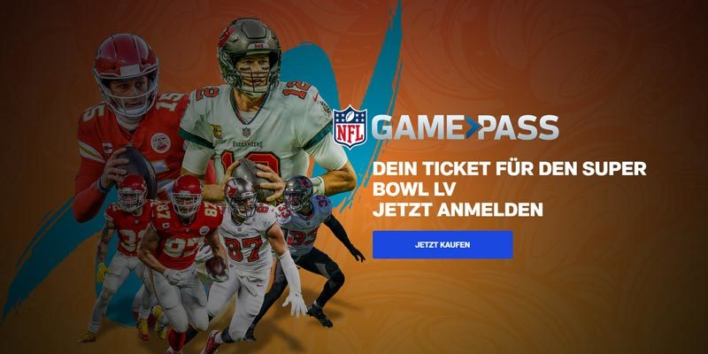 NFL Gamepass: Super Bowl Pass 2021 mit Original Werbung und US-Kommentar für 0,99€ [ab 12 Uhr]