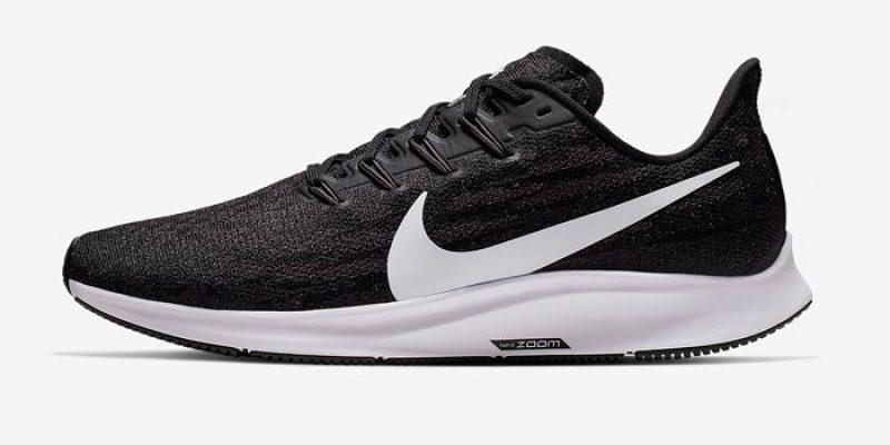 Nike Air Zoom Pegasus 36 FlyEase (schwarz/weiß) für 66,47€