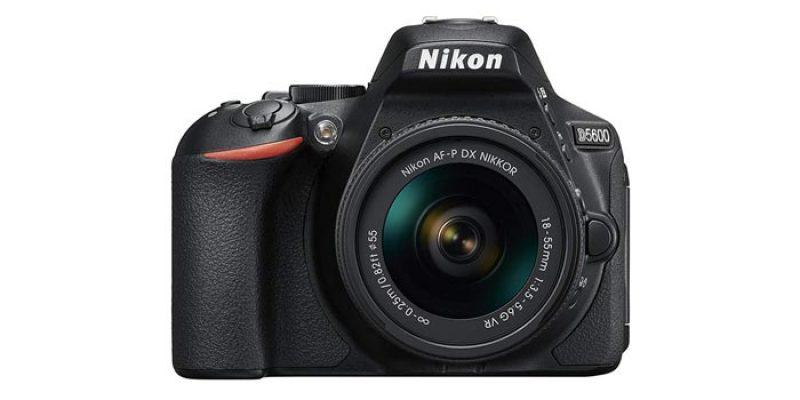 Nikon D5600 Kit AF-P DX 18-55 VR Spiegelreflexkamera für 448,99€ + 50€ Media Markt Gutschein