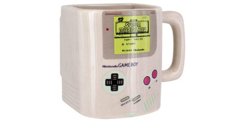 Nintendo Gameboy Tasse mit Kekse Fach für 13,48€